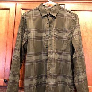Men's Lululemon Masons Peak Flannel Size Small